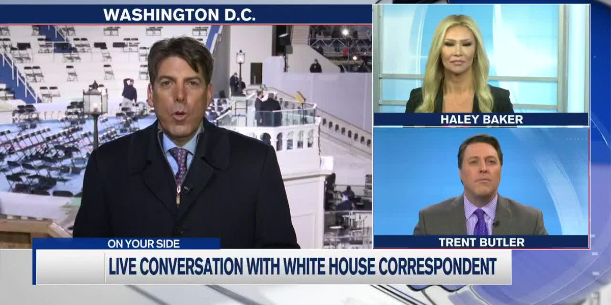 """""""This city right now is a fortress"""" - White House correspondent gives insight into inauguration"""