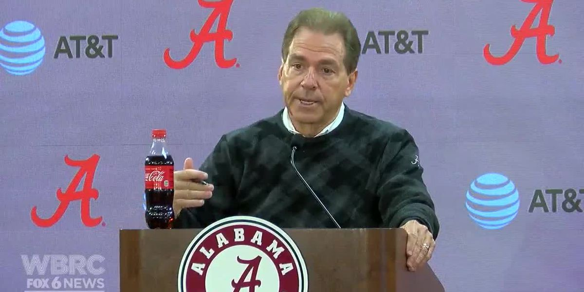Saban speaks ahead of Mississippi State game