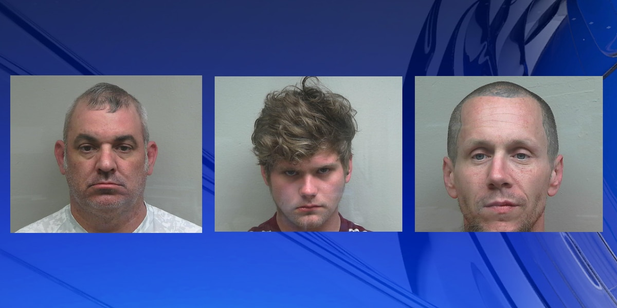 Three men arrested in connection to a forgery incident in Florence