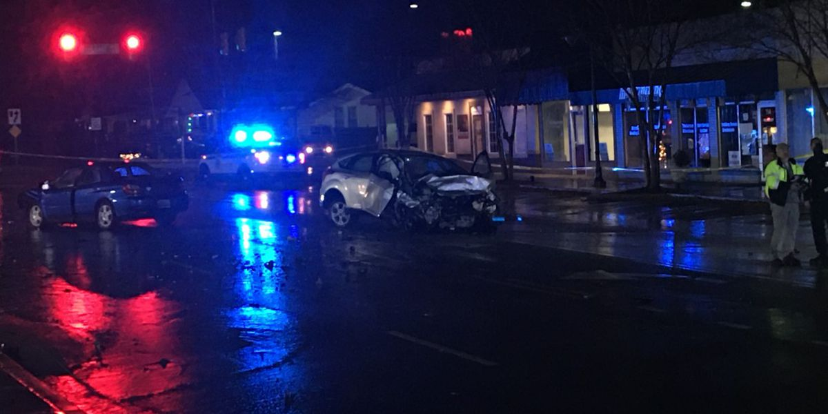 Police chase ends in car crash in Huntsville; surveillance footage released from scene