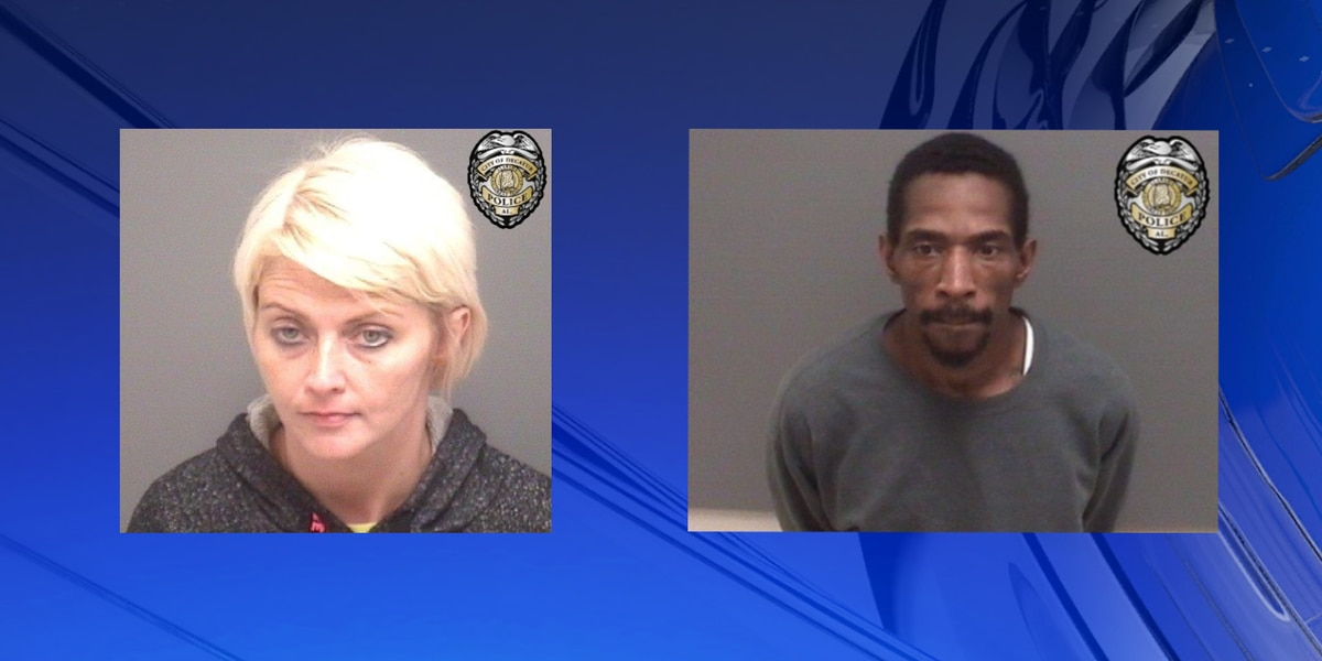 Man and woman arrested for possession of controlled substance, drug paraphernalia