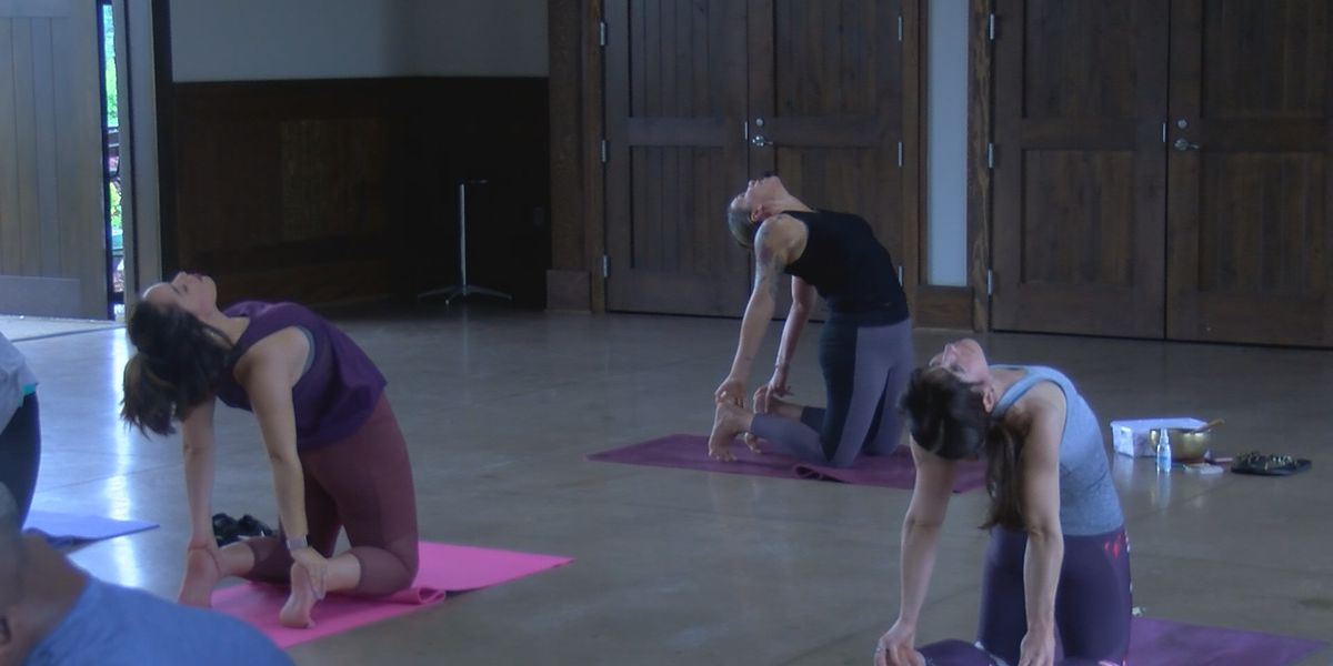 Local instructor explains the health benefits of doing yoga