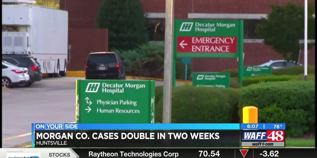 Decatur Morgan Hospital seeing highest number of patients yet