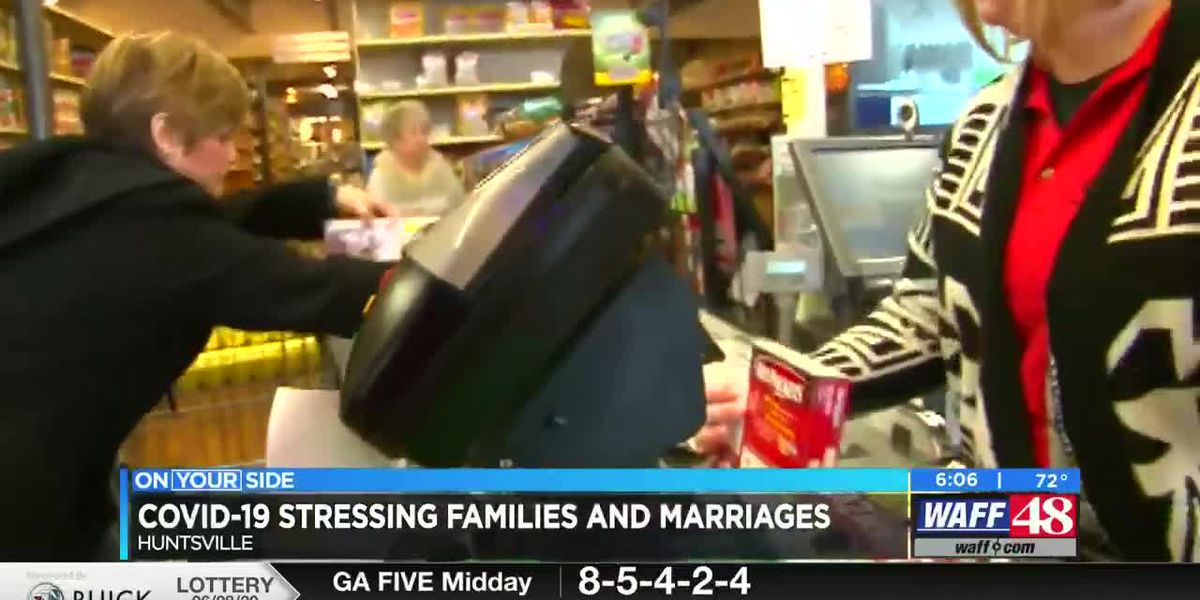 COVID-19 affecting marital and family stress