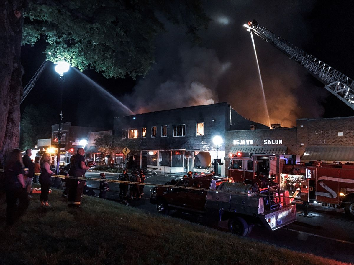 SPECIAL REPORT: A look at downtown Moulton six months after historic fire