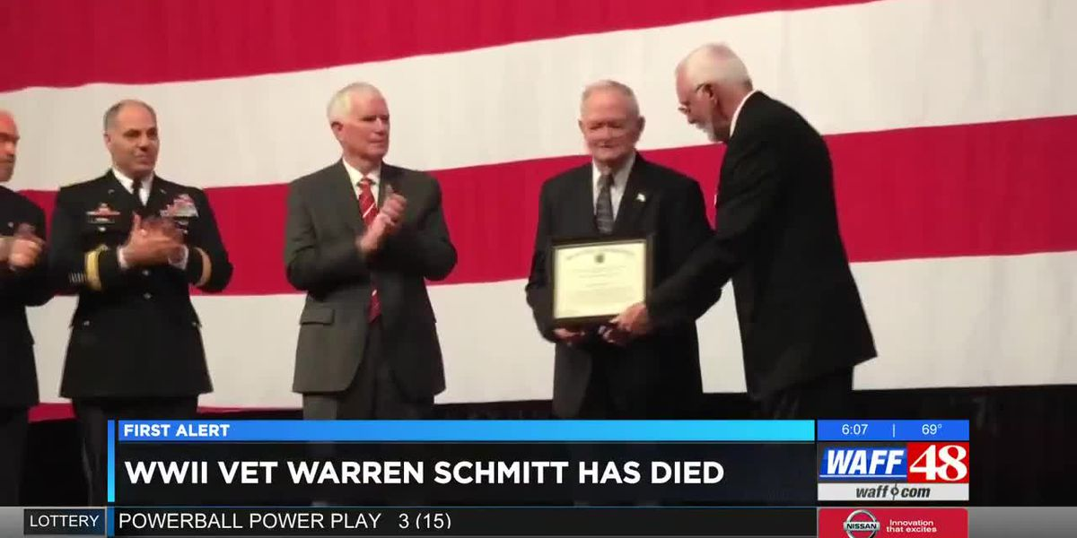 WWII veteran Warren Schmitt passes away