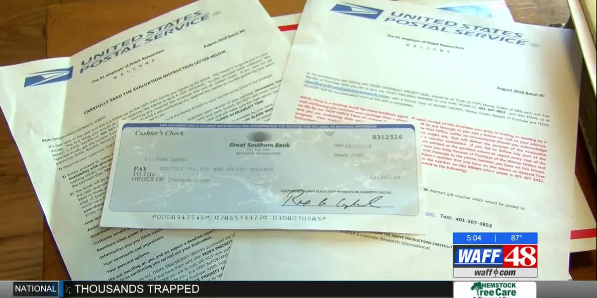 Shoals woman warns of secret shopper scam