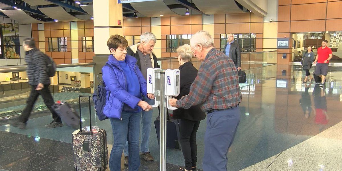 Huntsville International Airport taking precautions against germs