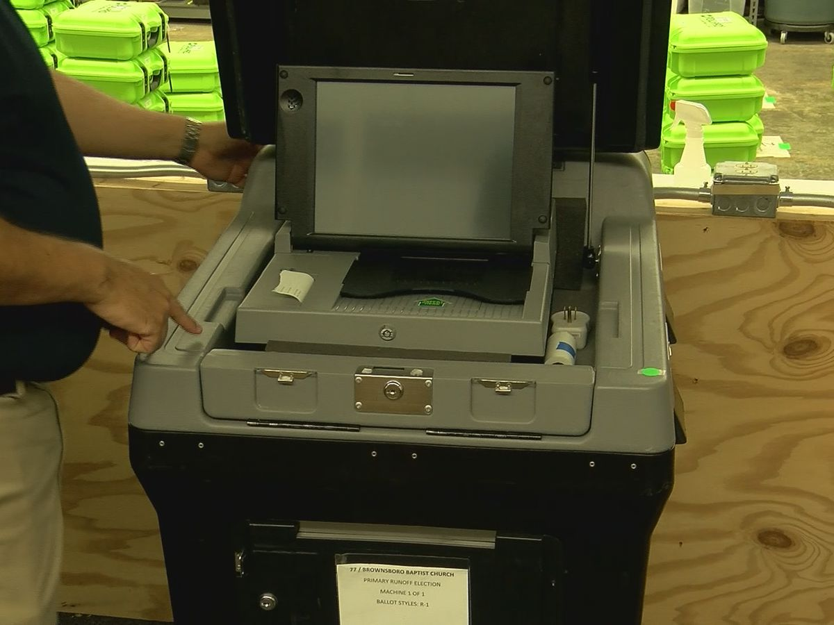 Voting machines tested and ready in Madison County