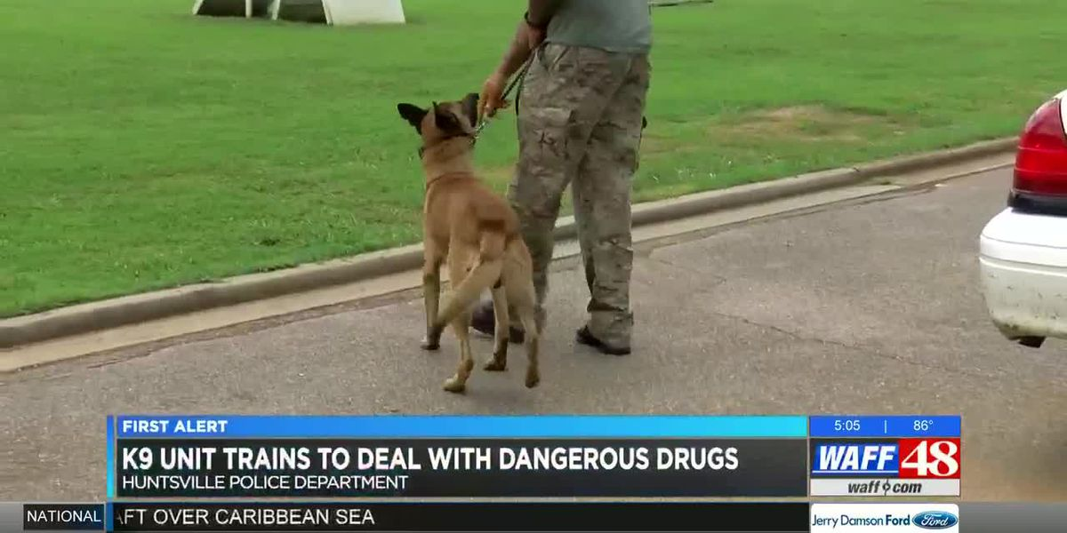 Inside training for HPD's K-9 Unit