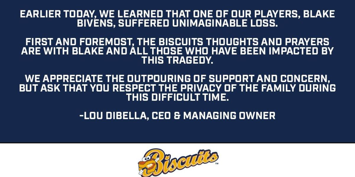 Reports: Biscuits pitcher's wife and child killed in Va. triple homicide