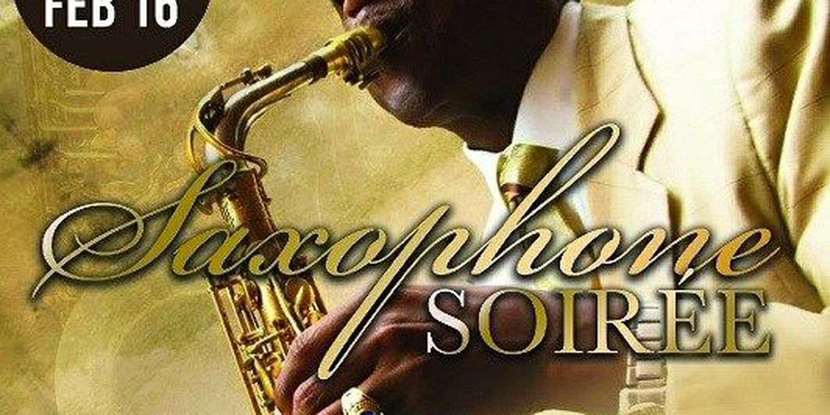 Saxophone soiree playing in Huntsville Friday