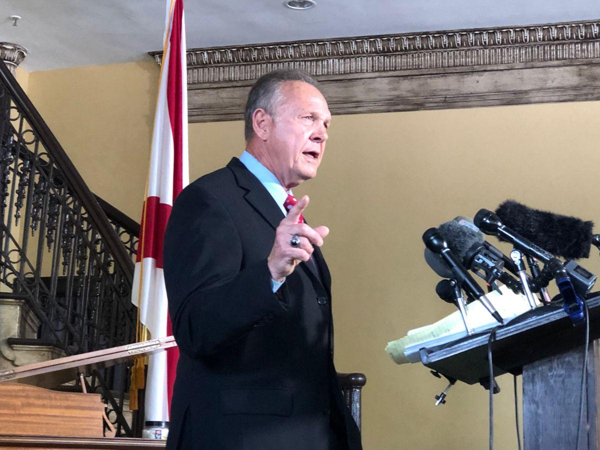 Ala. Sen. Doug Jones reacts to Roy Moore's second bid for Senate seat