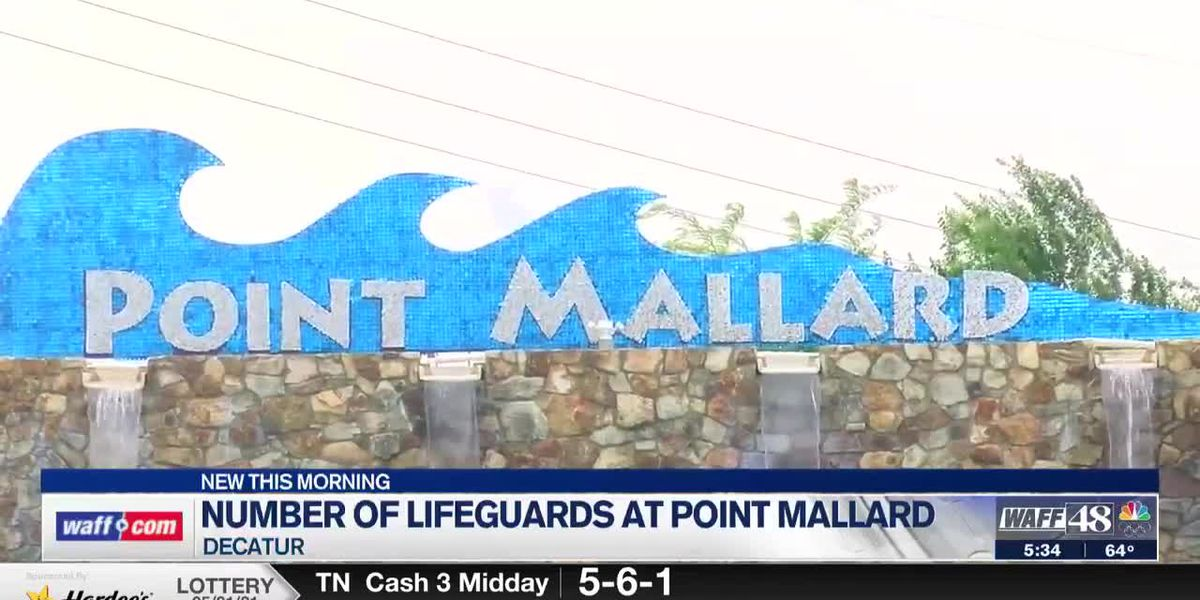 Number of lifeguards at Point Mallard Waterpark causes issues with scheduling