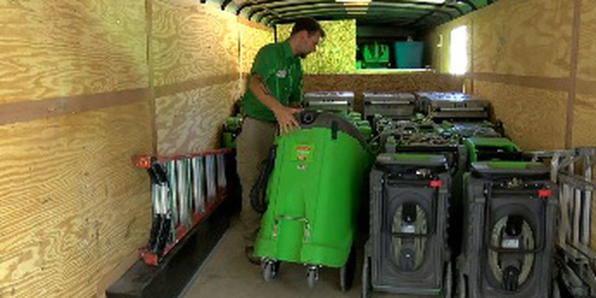 Red Cross, SERVPRO crews hit the road to help hurricane victims