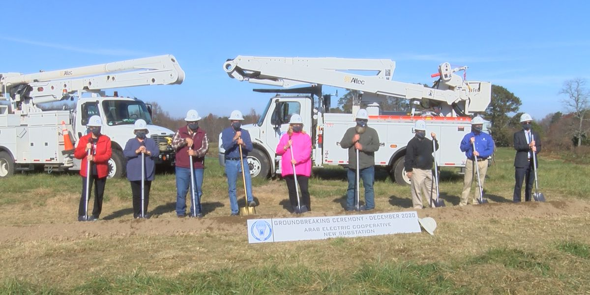 Arab Electric Cooperative breaks ground on new substation