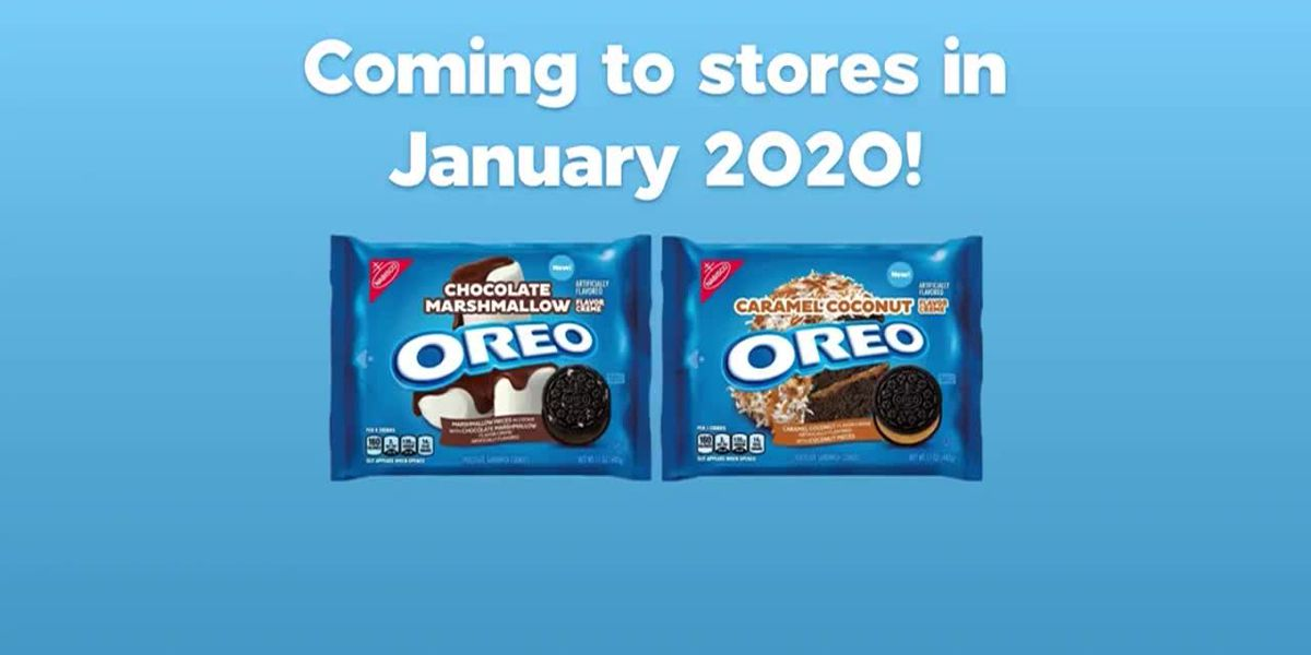 2 new Oreo cookie flavors arrive in 2020