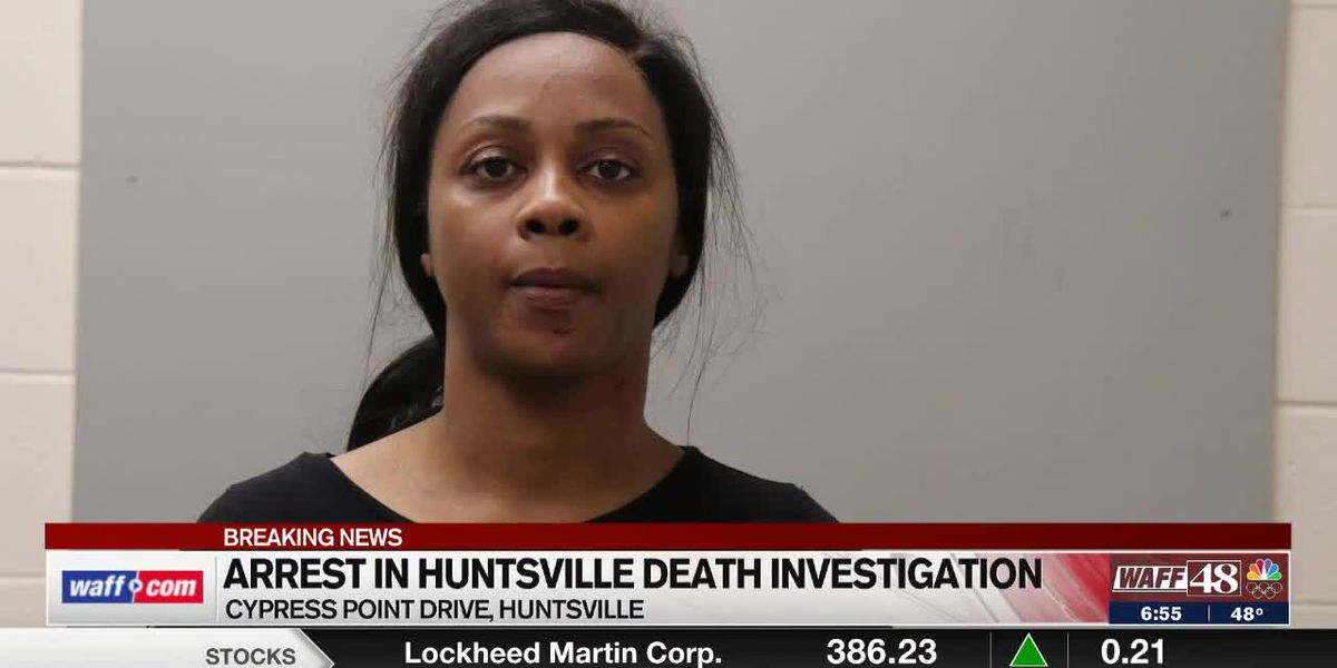Police arrest Huntsville woman for murder after Saturday death investigation