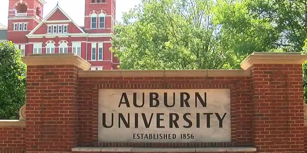 Auburn University conducting COVID-19 testing for all students on campus in the fall