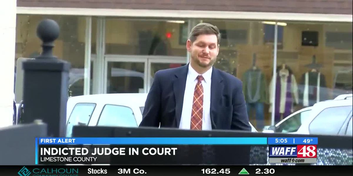 Limestone County judge pleads not guilty to theft, using position for personal gain