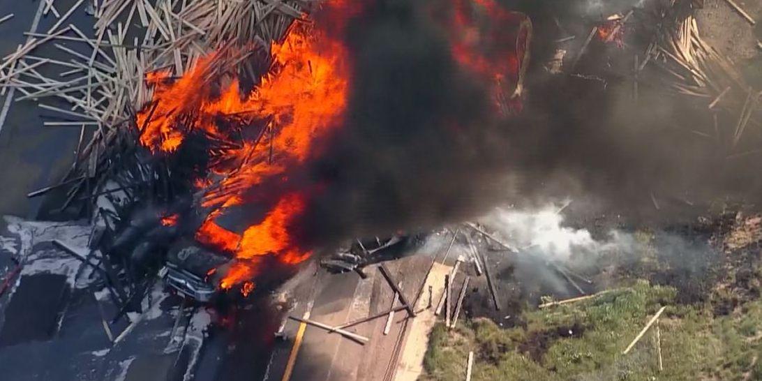 Multiple people killed in fiery 15-vehicle pileup in Colorado