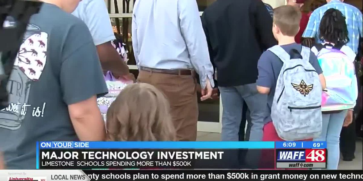 Limestone County School District announces major technology investment