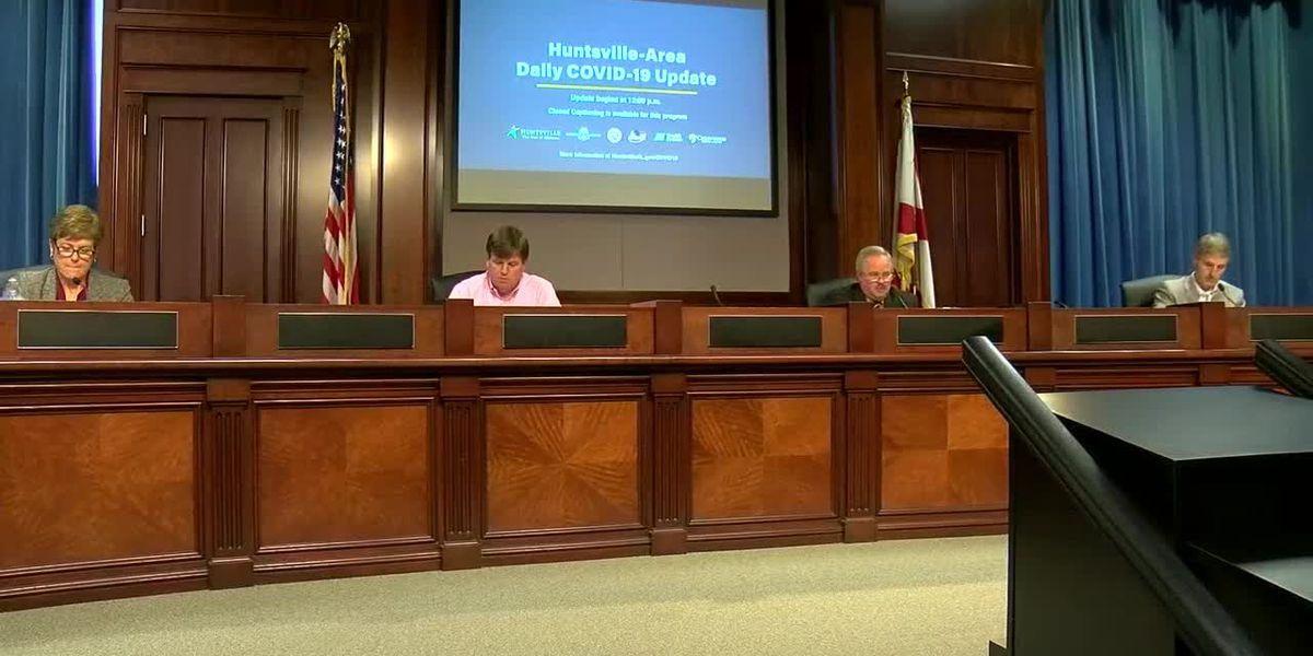 Huntsville leaders issues latest COVID-19 update on Thursday
