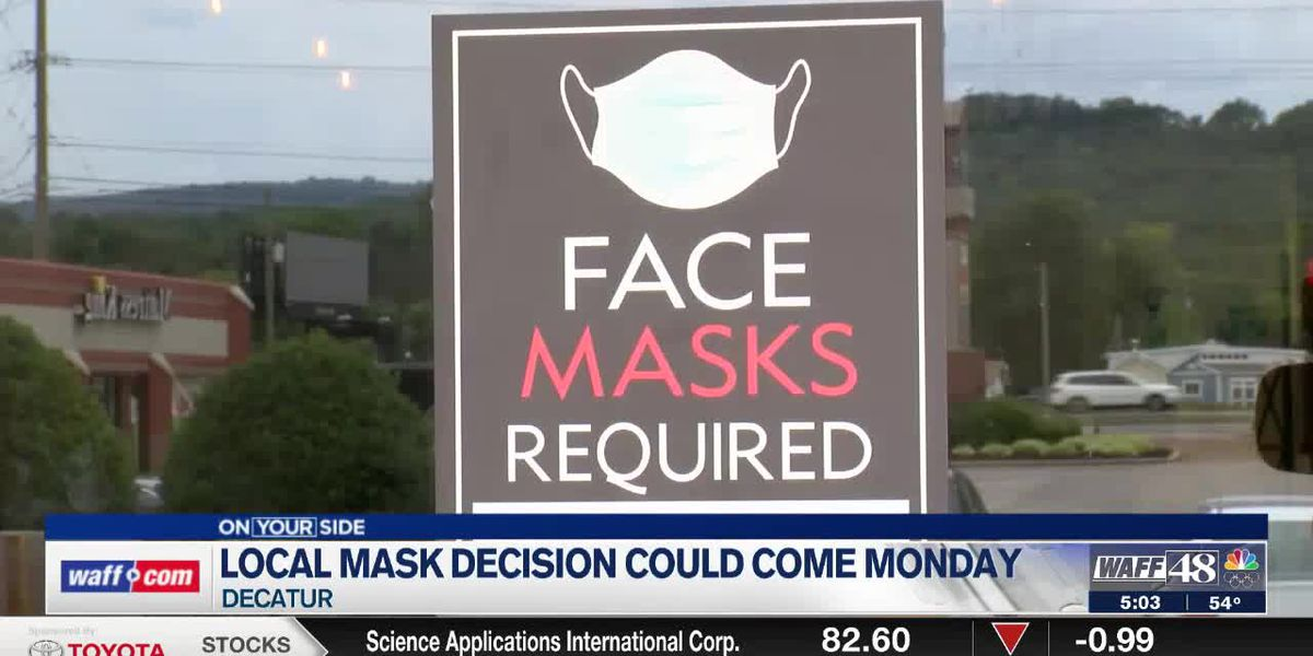 Decatur's local mask ordinance could be lifted before April 9
