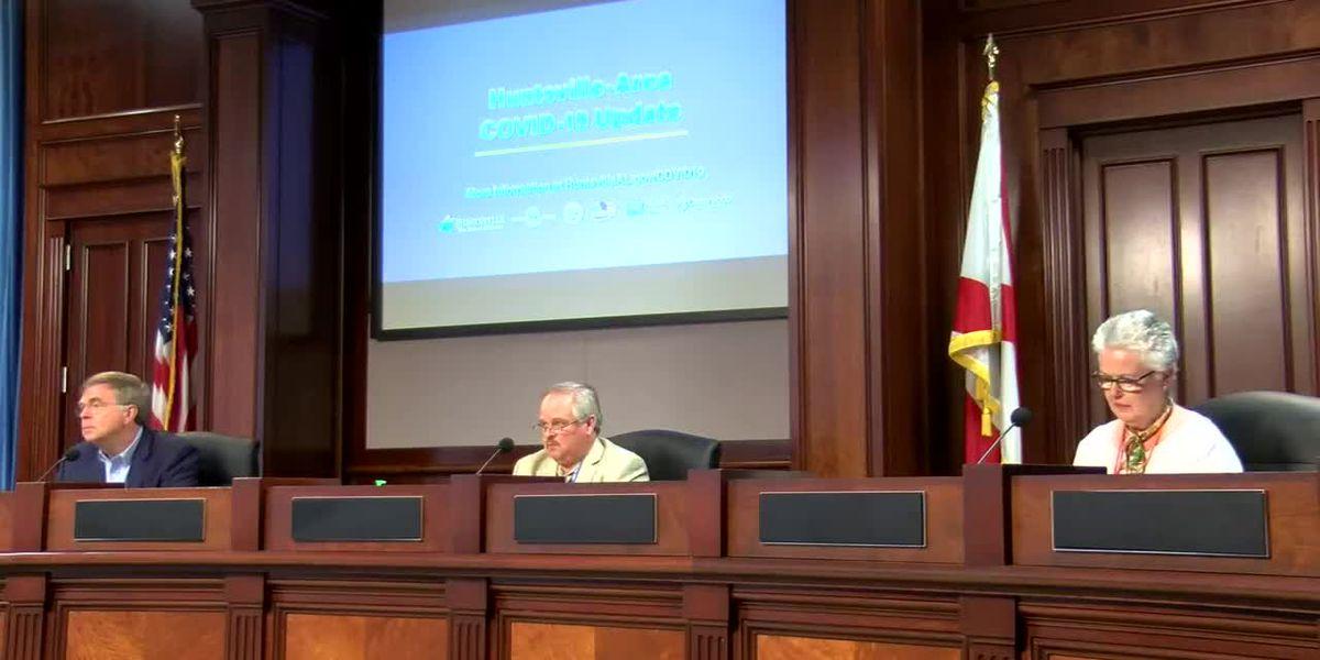 Huntsville officials talk latest on COVID-19