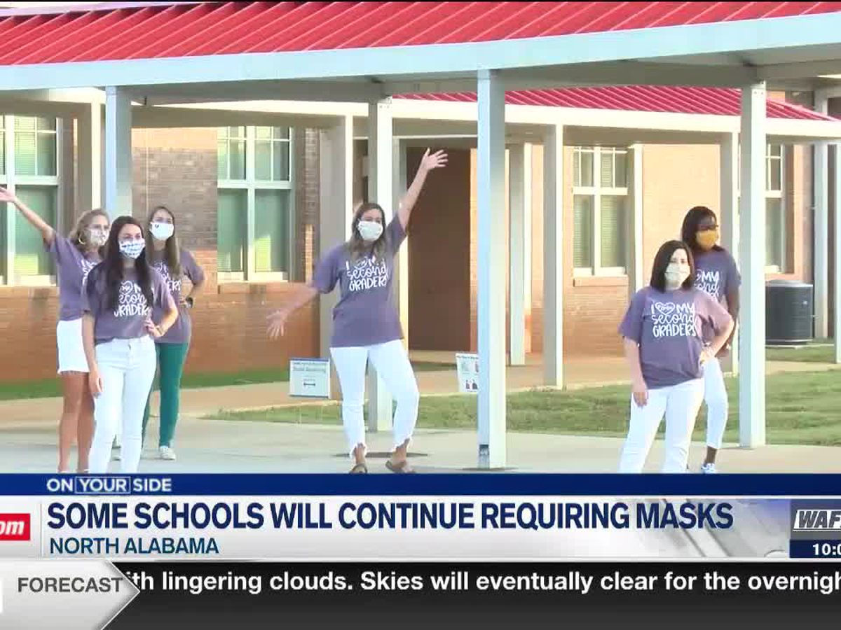 Mask requirements for school systems across the Tennessee Valley