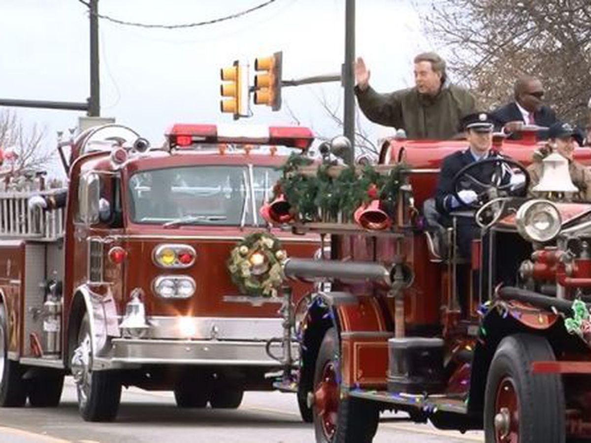 Huntsville Christmas parade route and road closures