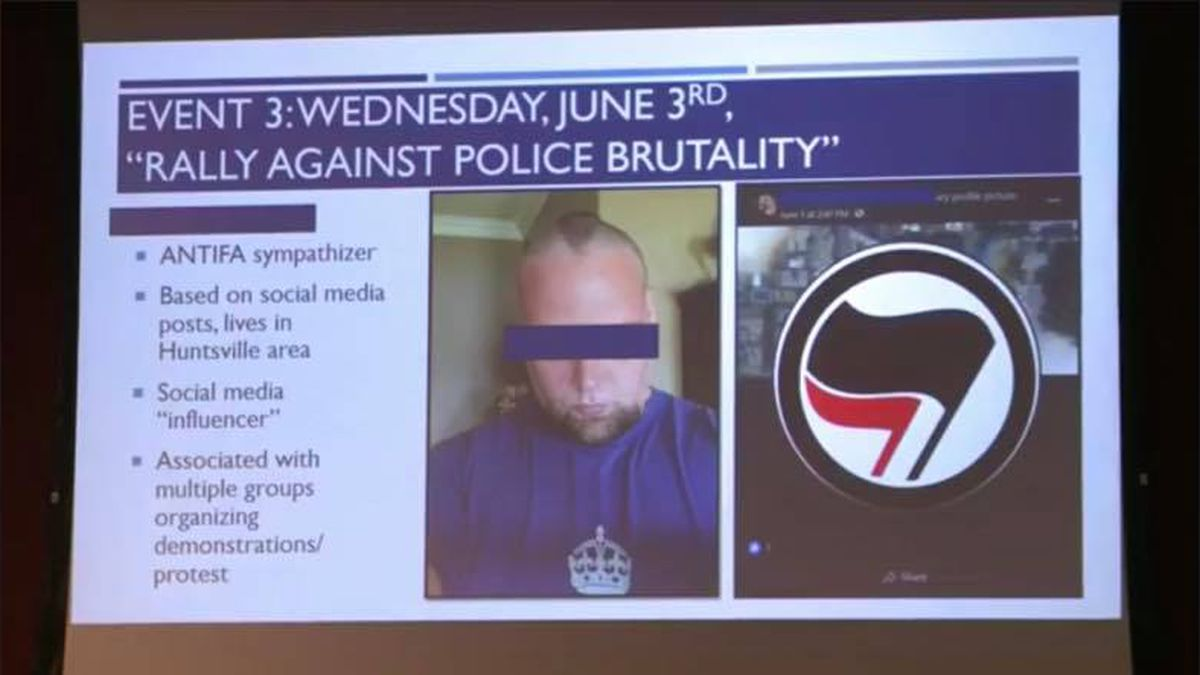 Huntsville man says his social media was trolled and falsely portrayed as antifa