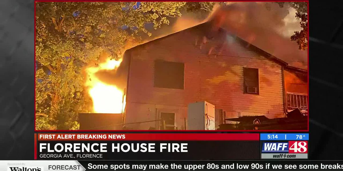 Florence emergency personnel fight early morning house fire