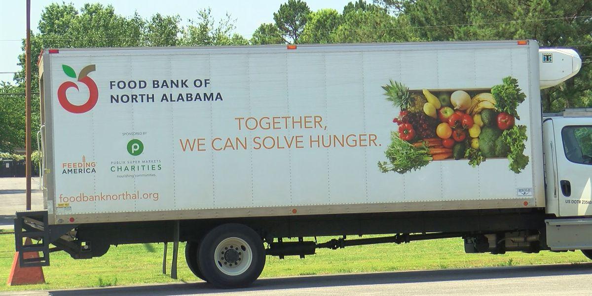 Food Bank of North Alabama closing until November 30