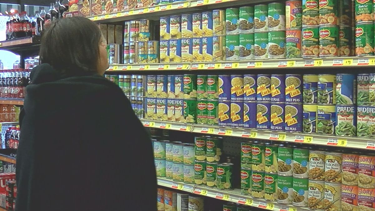 How much does Thanksgiving dinner cost in the Tennessee Valley?