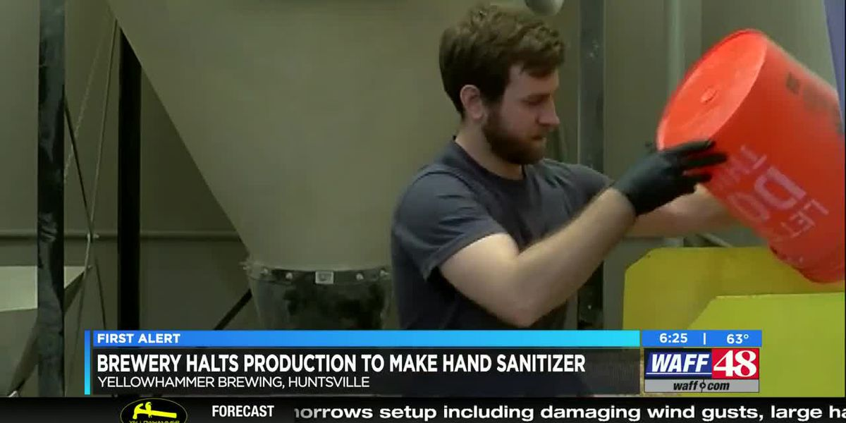 Huntsville bar and distillery now producing hand sanitizer