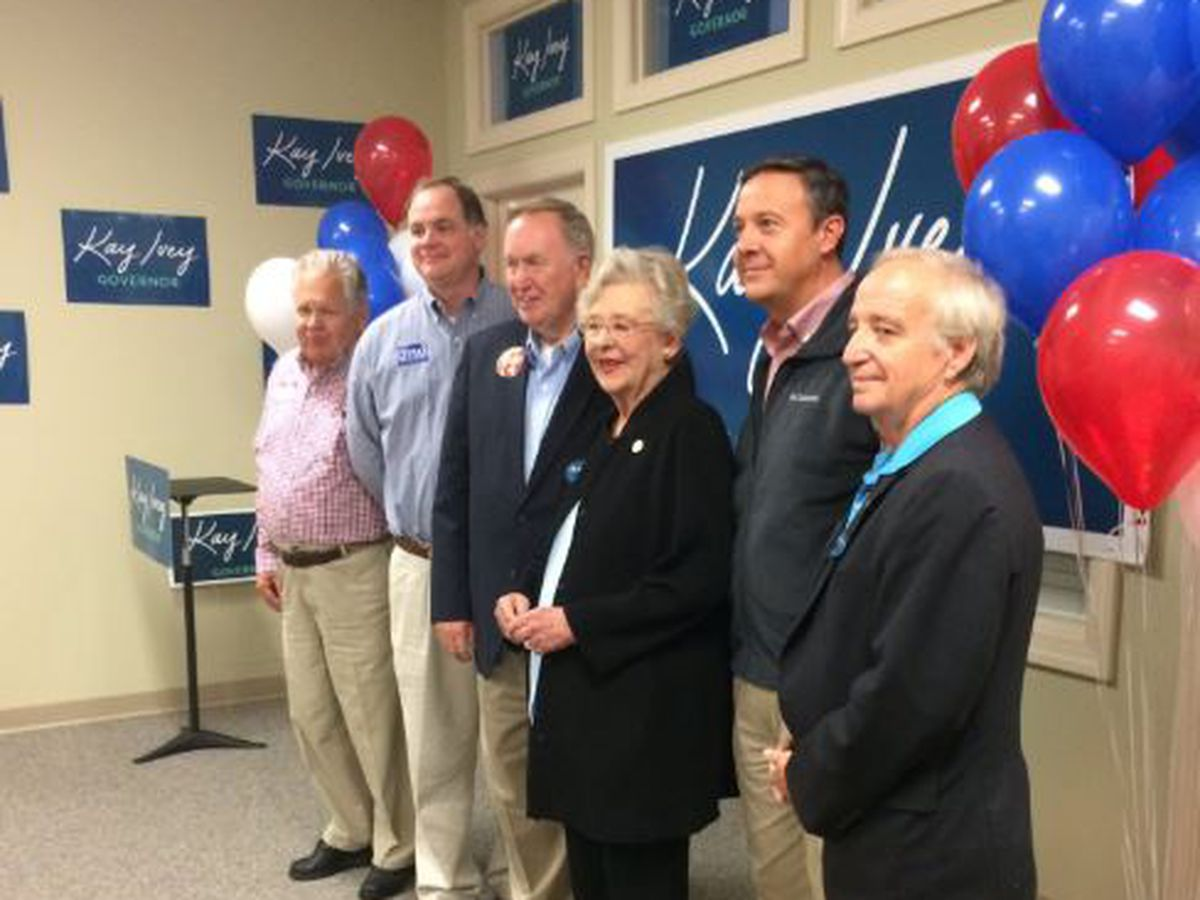 Gov. Ivey makes campaign stop in Huntsville