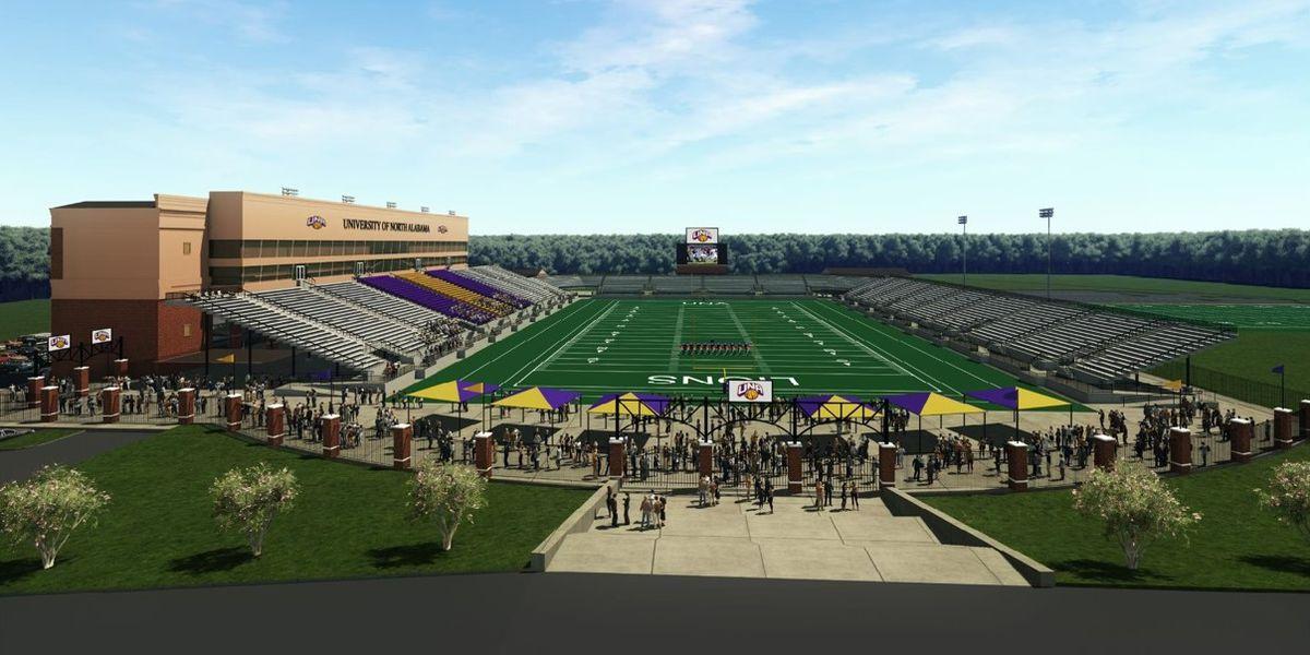 UNA considering designs for potential new stadium