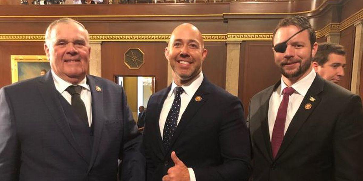 Combat veteran lawmaker tweets inspiring photo from House floor