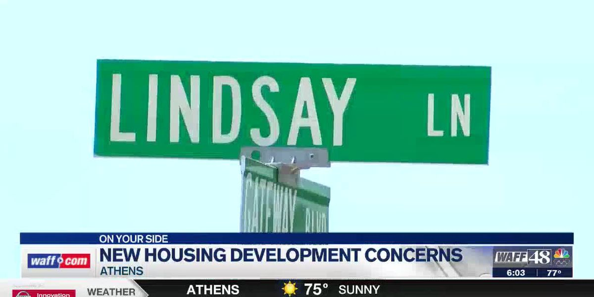 Athens residents concerned about traffic flow amid hundreds of houses coming to Lindsay Lane