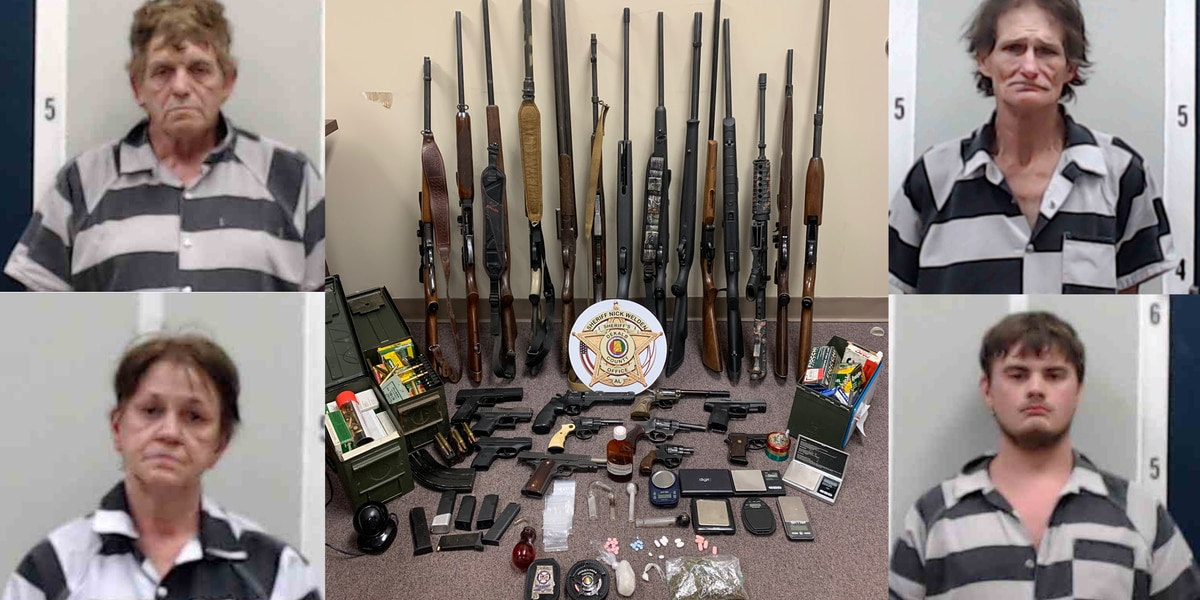 DeKalb county bust results in drug charges for multiple Mentone residents