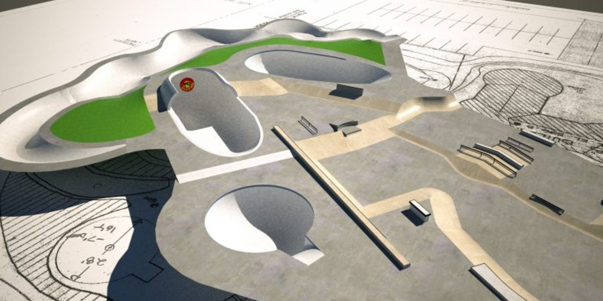Plans for a new skatepark coming to Huntsville