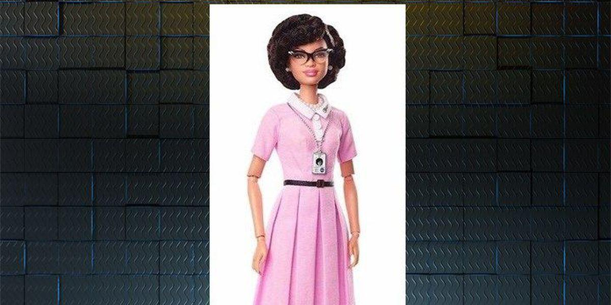 New Barbie doll modeled after NASA 'hidden figure' Katherine Johnson