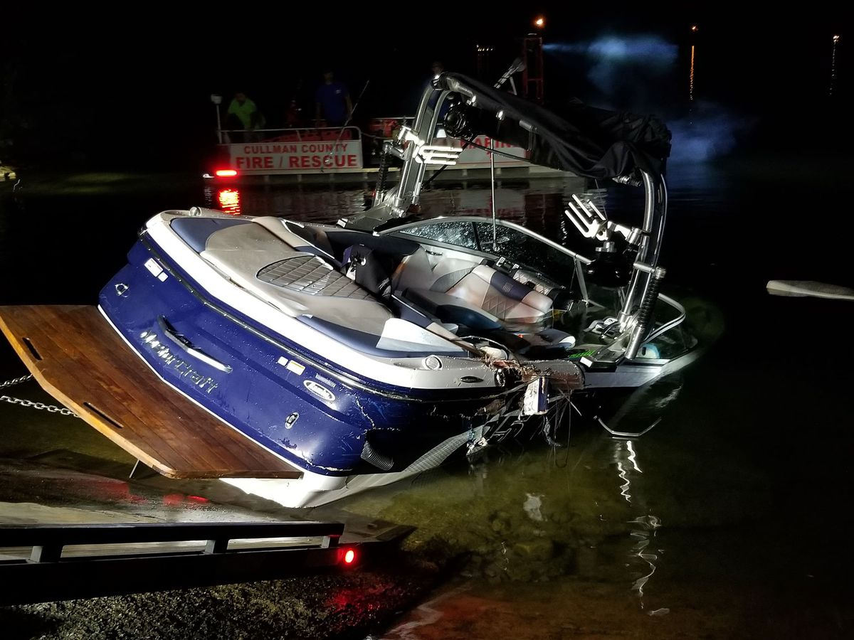 Couple charged in deadly July boat crash
