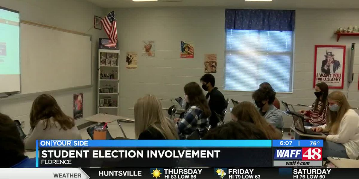 Muscle Shoals teacher uses election season as teaching opportunity