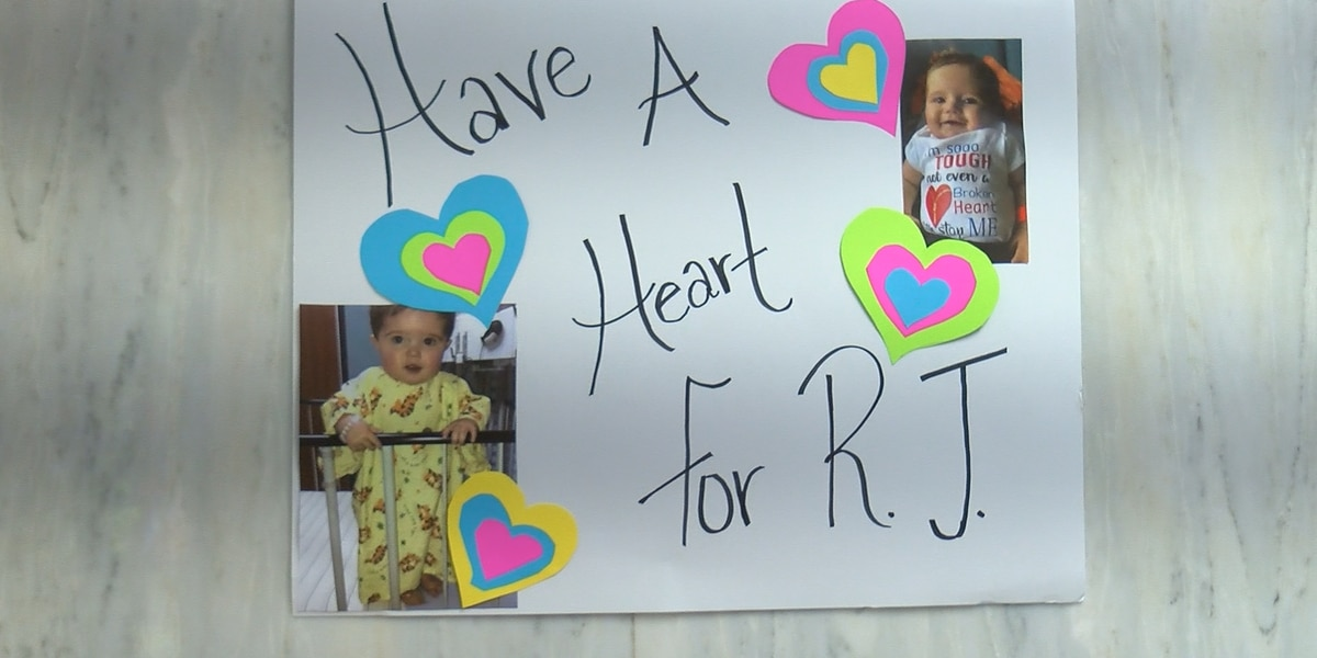 Community hosts fundraiser for family of 2-year-old who died from heart defect