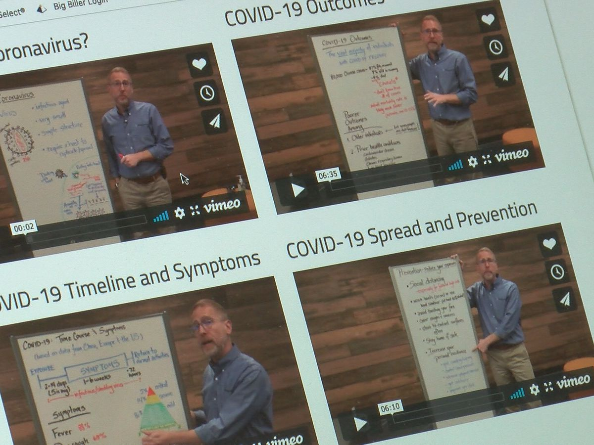 HudsonAlpha offering educational videos on COVID-19