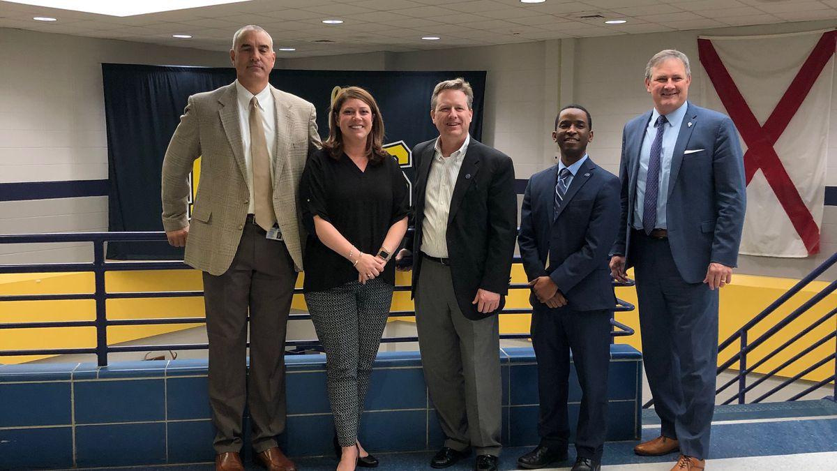 Buckhorn High School named AL Assistant Principal of the Year