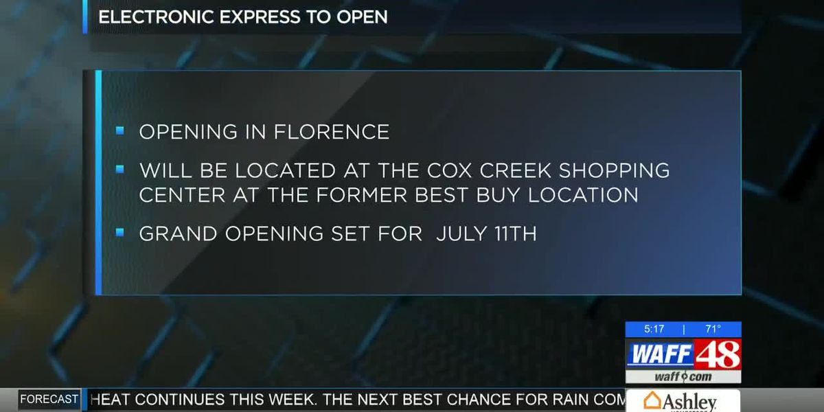 Electronics Express opens in July in Florence