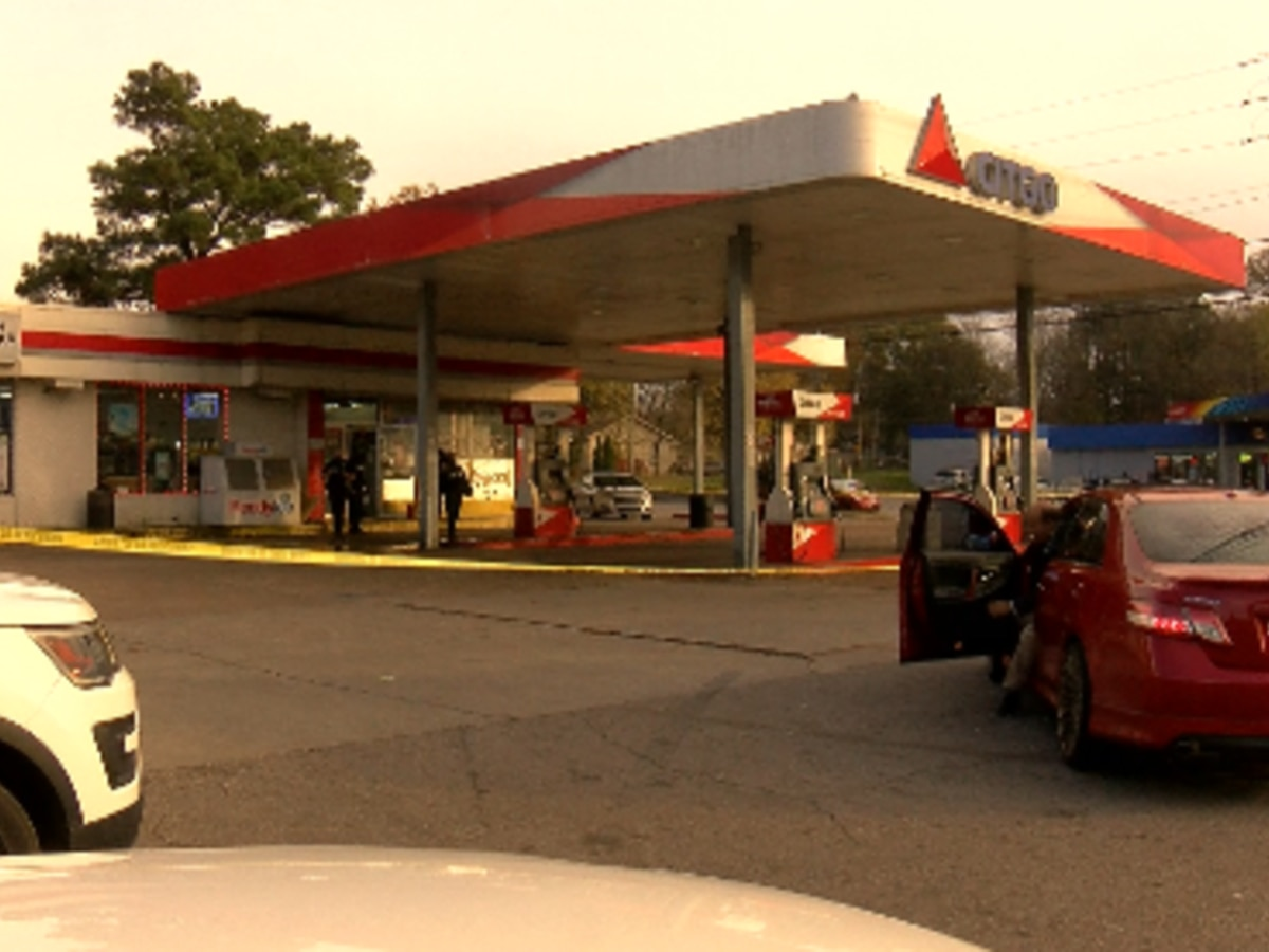 Man shot multiple times at Huntsville gas station